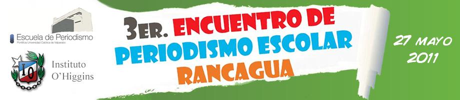 III Encuentro de periodismo escolar Rancagua