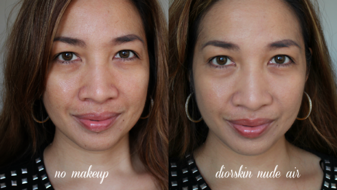 Dior Diorskin Nude Air, Review, Swatch, Before/After Photos, makeup for acne