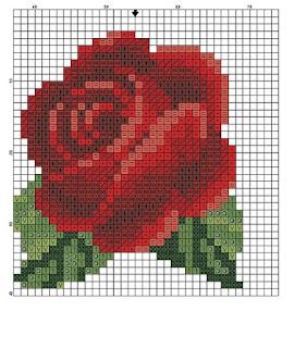 цветы из бисера роза