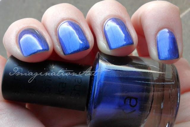 shaka indigo indaco smalto unghie swatches nail èolish lacquer