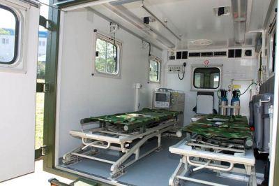 Kendaraan Medis Militer China