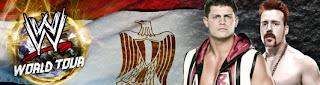اكسب تذكرة حضور عرض المصارعة wwe في مصر من فودافون