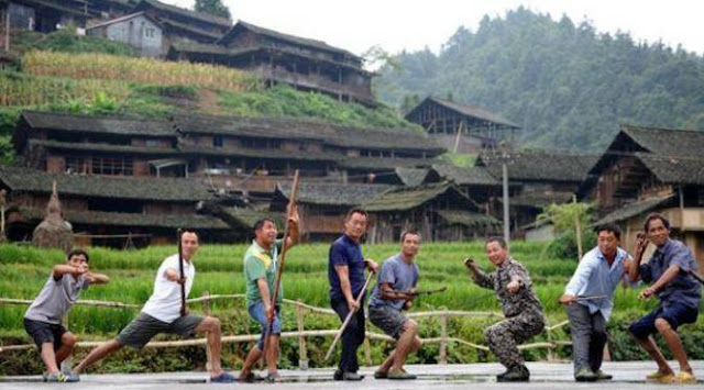 Desa Kungfu di Ganxi Dong