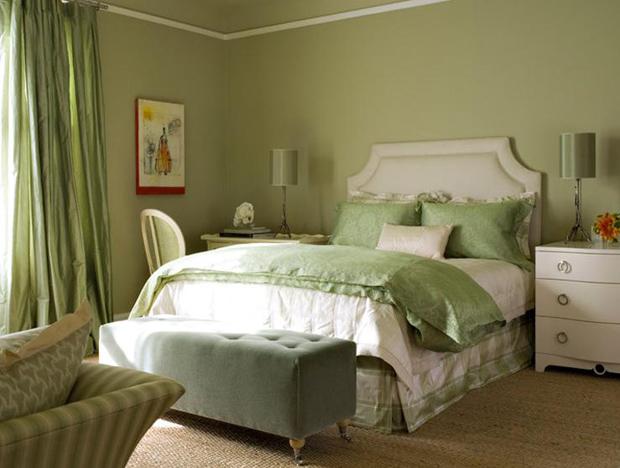 Green Master Bedroom Ideas - Interior Designs Room