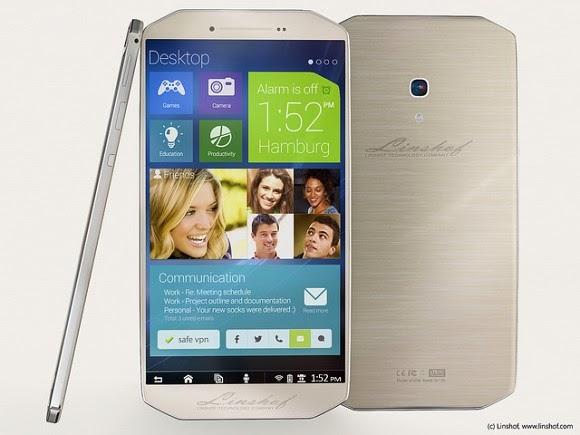 صور ومواصفات هاتف Linshof i8 صناعة ألمانية
