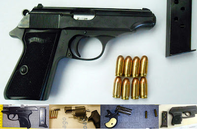 Loaded Guns Discovered in Carry-On Bags