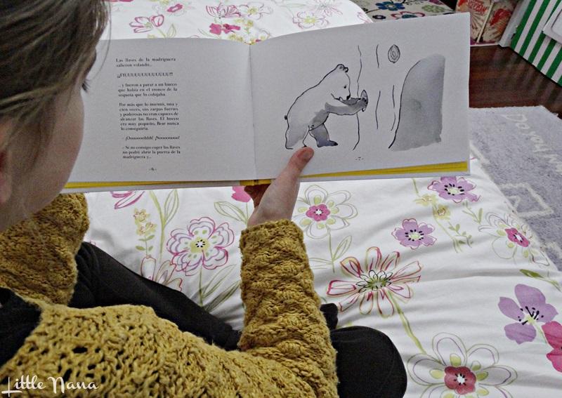Hoy leemos Heron and Bear libro infantil