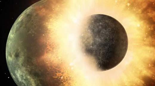 La Tierra es en realidad dos planetas - no uno