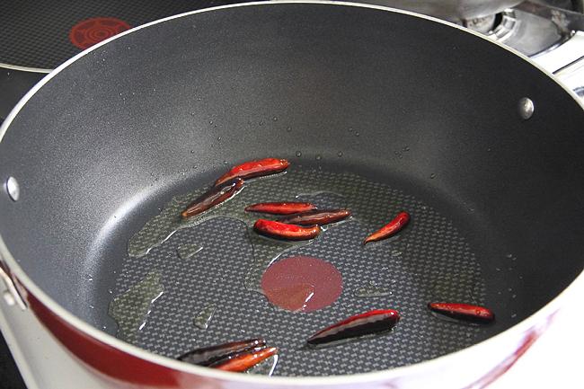 Креветки Кунг Пао с арахисом
