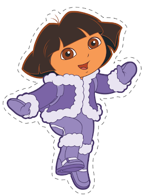 Dora Paper craft princesa