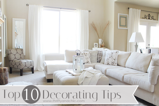 Top 10 Decorating Tips When A Room