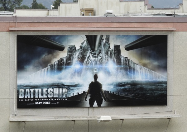 Battleship billboard ad