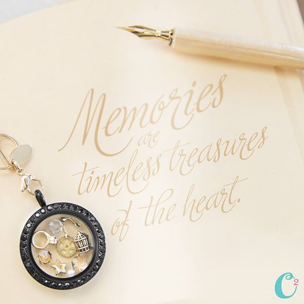 Memories Vintage Look Origami Owl Living Locket | Shop StoriedCharms.com