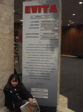 Musical EVITA - Teatro Alfa