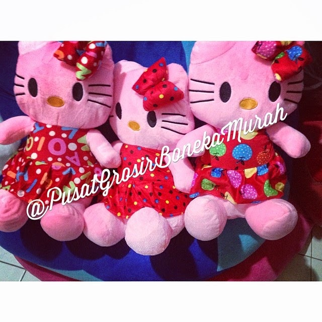 PUSAT GROSIR BONEKA HELLO KITTY MOTIF