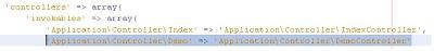 Como crear controladores con Zend Framework 2 paso a paso