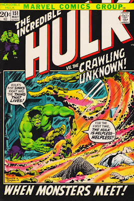 The Incredible Hulk #151, the Crawling Unknown