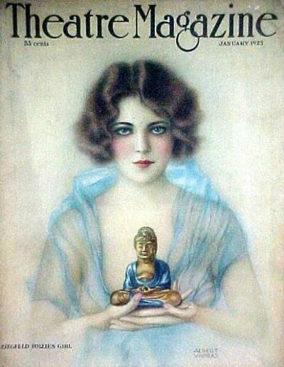theatre magazine cover vargas