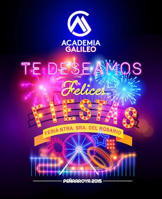 Academia Galileo en Peñarroya te desea FELIZ FERIA DE OCTUBRE 2015