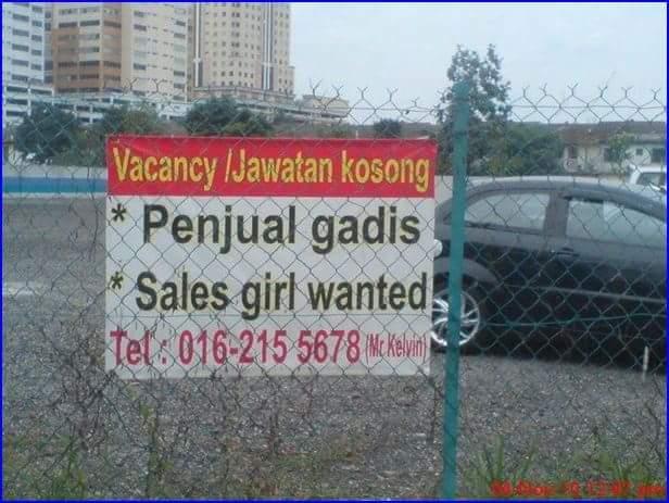 Penjual Gadis