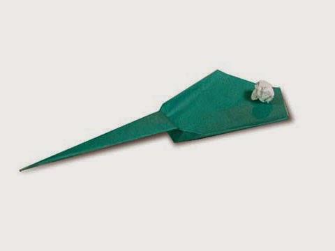 Cách gấp, xếp súng bắn đạn giấy origami - Video hướng dẫn xếp hình - How to make a Paper Catapult