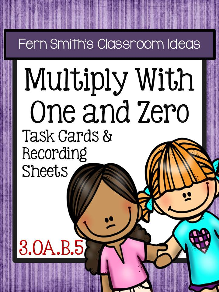 http://www.teacherspayteachers.com/Product/FREE-Multiply-With-One-and-Zero-Task-Cards-and-Recording-Sheets-3OAB5-1557422