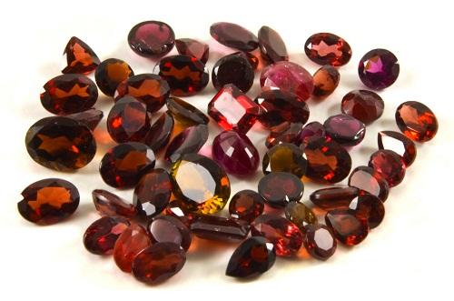 Garnet Colors Gemstone