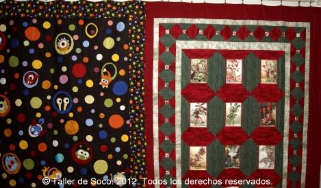 Patchwork soco fotos 1 exposici n fin de curso 2012 - Tecnicas de patchwork a mano ...