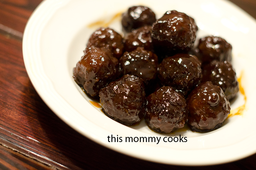 This Mommy Cooks: Slow Cooker Meatballs