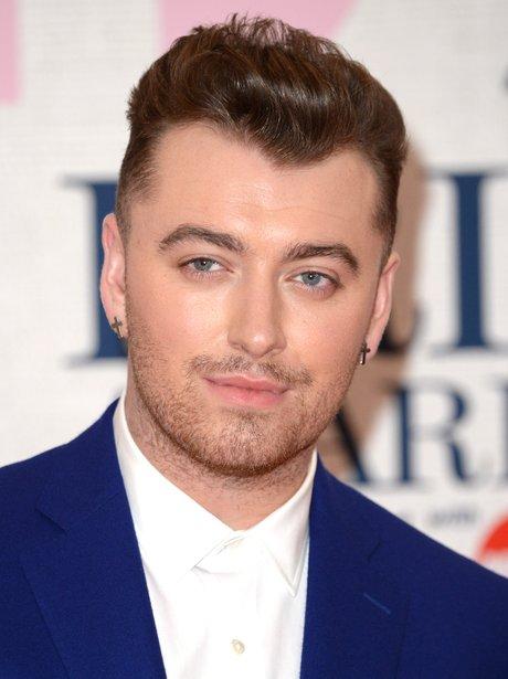 sam smith brit awards 2015 red carpet