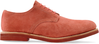 Red Suede Walk-over shoes