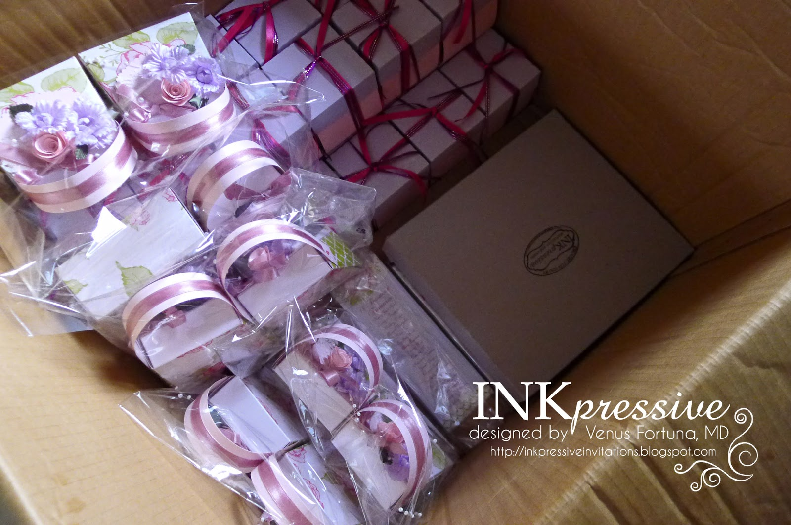 Purple Pink Purse Invitation Marie Antoinette Inspired | INKPRESSIVE ...