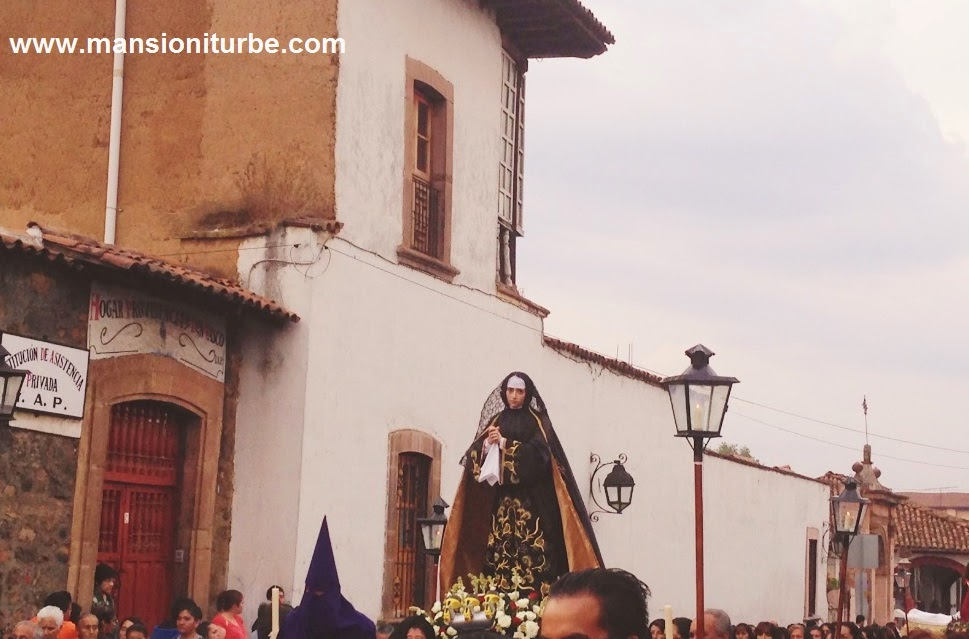 Procession in Silence in Pátzcuaro
