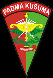Logo Yonif 407 Padma Kusuma