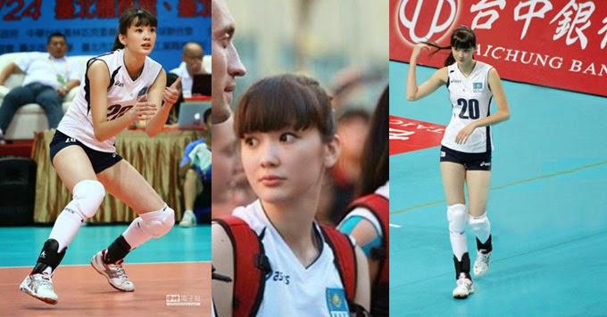 Sabina Altynbekova, Atlet Voli Cantik Dari Kazakhstan