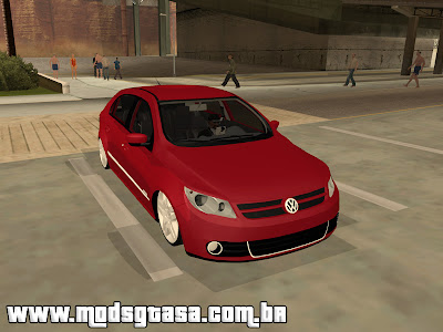 Vw Gol 2009 Power Edit para GTA San Andreas
