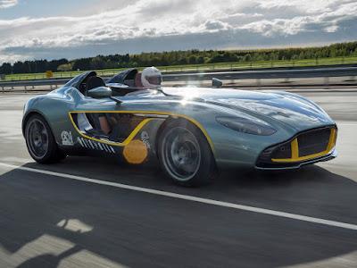 Aston Martin CC100 - Autos clásicos de carreras
