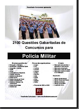 curso Download   2100 Questões Gabaritadas Para Concurso da Polícia Militar + Bônus