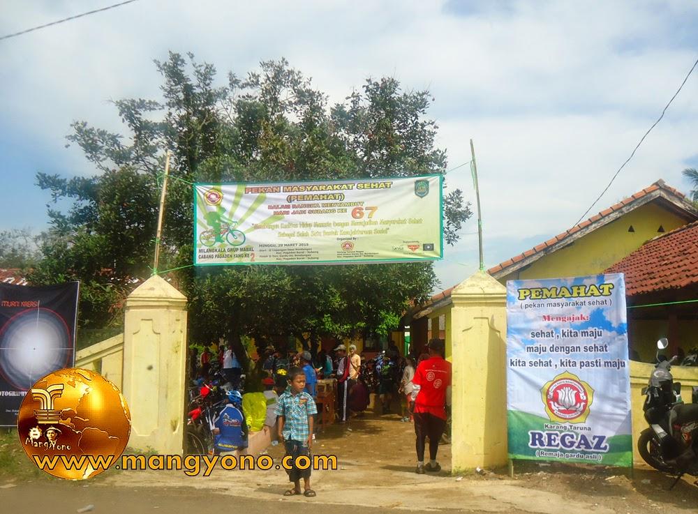 FOTO: Tempat  Sepeda Santai Dusun Gardu, Desa Bendungan, Kecamatan Pagaden Barat, Subang.