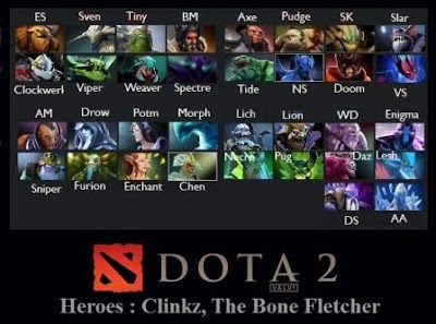 Game DOTA 2 Heroes Clinkz The Bone Fletcher Terbaru