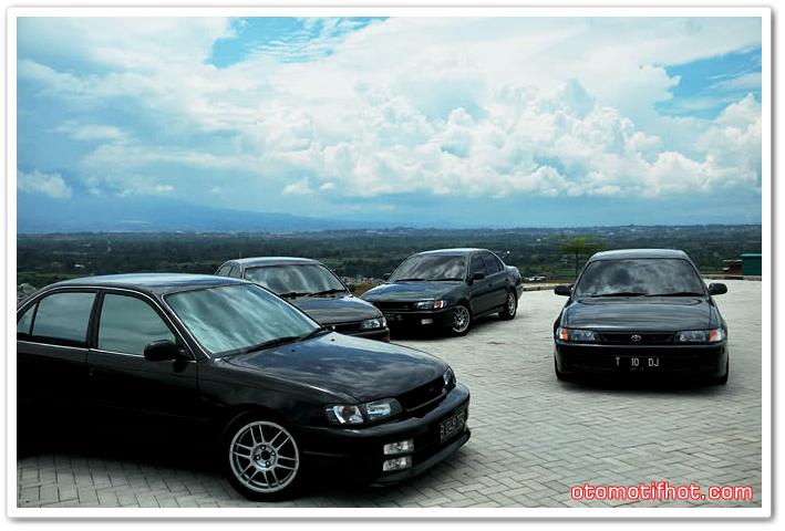 Gambar Modifikasi Mobil Great Corolla Tahun 1994