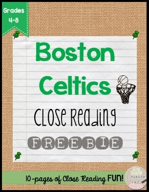 https://www.teacherspayteachers.com/Product/Boston-Celtics-and-Larry-Bird-Close-Reading-FREEBIE-1761033