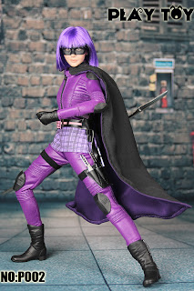 Kick Ass 2: Play Toy P002 Purple Girl 1/6 Action Doll