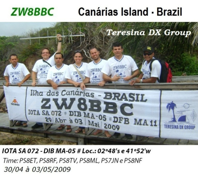 DXpedition nº 007