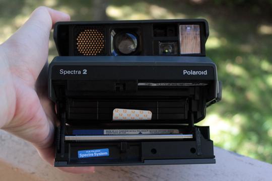 open polaroid spectra