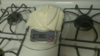 tallow on a scale - 380g