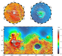 Geography of Mars Planet