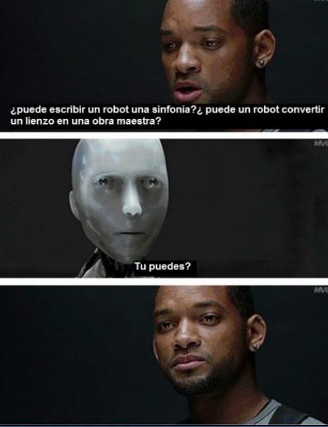 Hasta los robots son muy malos