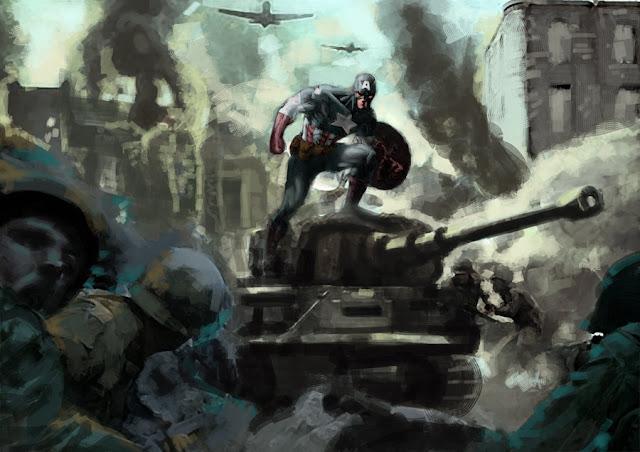 Captain America at War por adr-ben