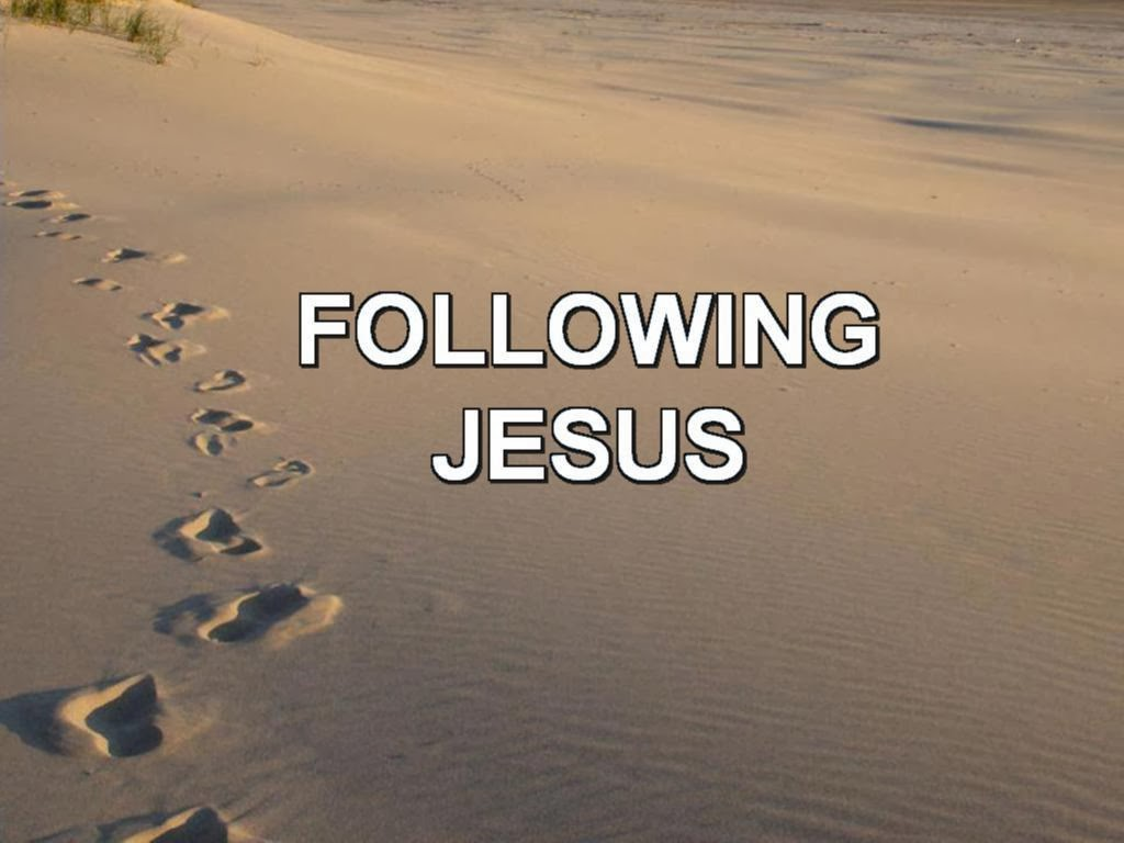 Image result for photo following Jesus
